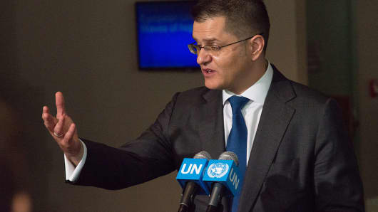 Former Serbian Foreign Minister Vuk Jeremic