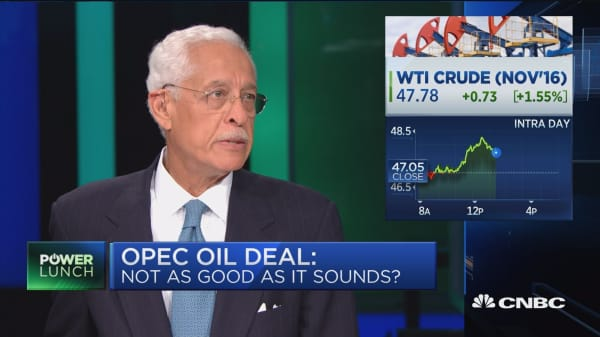 OPEC deal not as good as it sounds?