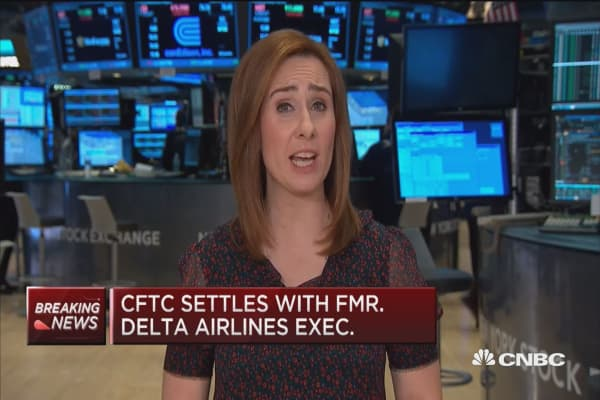 CFTC settles with former Delta Airlines executive