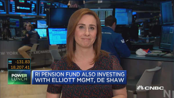 Rhode Island pension fund cuts hedge fund holdings