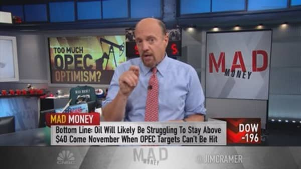 Cramer: OPEC deal a desperate attempt to control oil prices