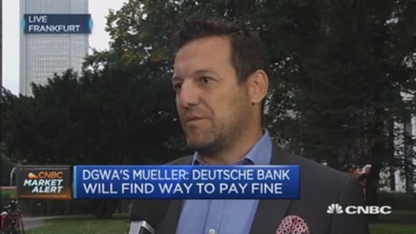 The government has to jump in to help Deutsche Bank: CEO