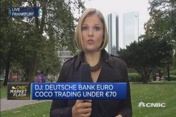 Huge degree of nervousness inside Deutsche Bank