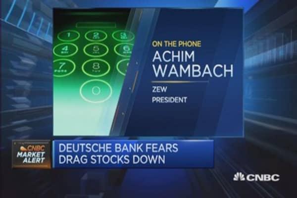 Deutsche Bank bail in some distance away