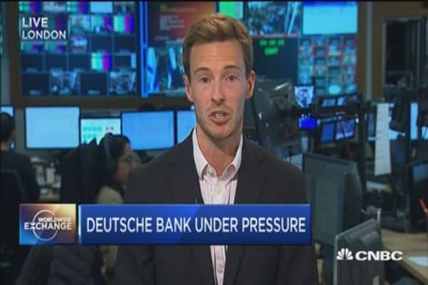 Fallout continues for Deutsche Bank