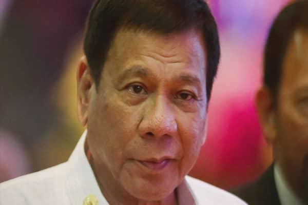 Philippine President Rodrigo Duterte likens himself to Hitler