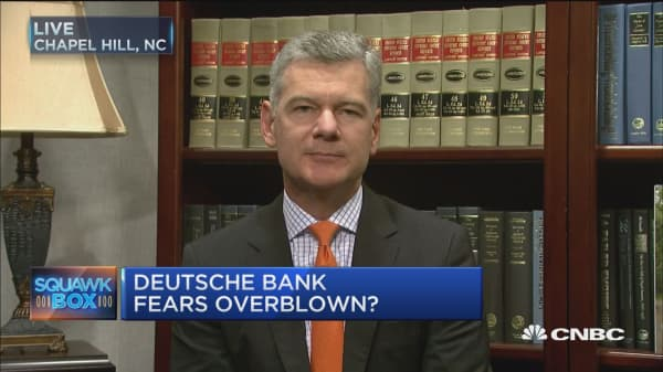 More sound than fury with Deutsche Bank: Pro