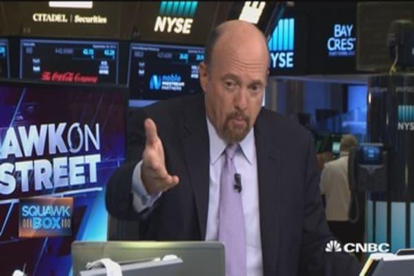 Cramer: Deutsche Bank is a political issue