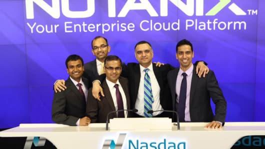 nutanix ipo date Nutanix aims to crack open the tech IPO window