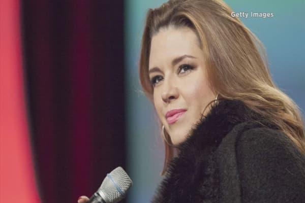 Trump call Alicia Machado 'disgusting'