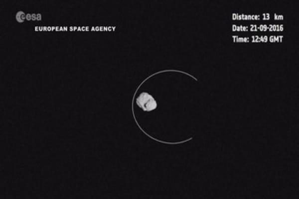 Rosetta spacecraft successfully crash-lands on comet