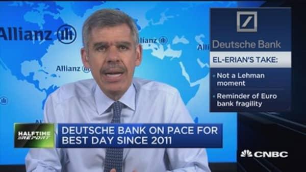 El-Erian on Deutsche Bank: Not a Lehman moment