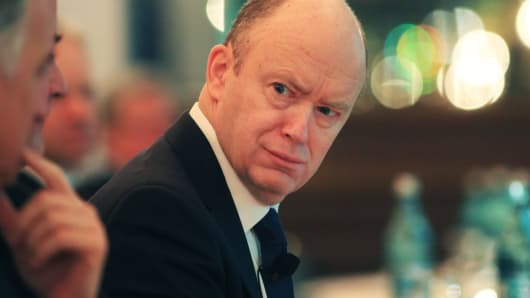 Time to raise eurozone interest rates, says Deutsche Bank chief