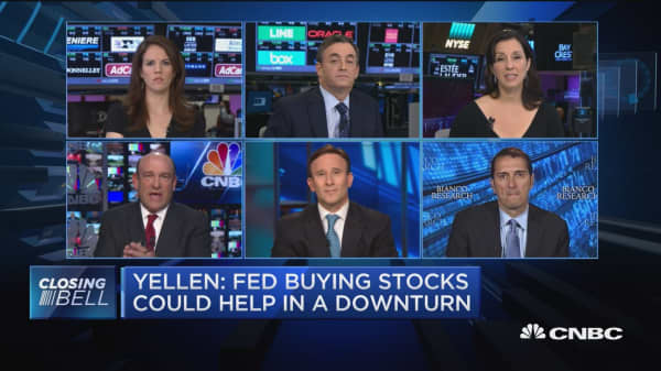 Will the Fed start buying equities?
