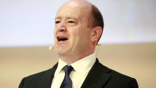 Deutsche Bank, John Cryan, chief executive officer