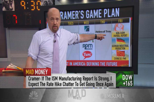 Cramer's game plan next week: The Fed could change its mind on this number