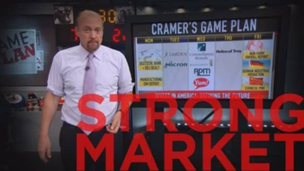 Cramer Remix: A weak jobs number is a good thing