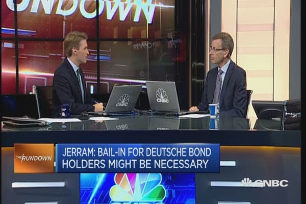 Deutsche Bank settlement a short-term fix: Economist