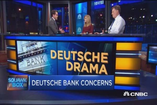 Does Merkel have plan B in mind for DB?
