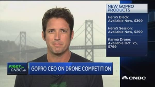 Strong vision in our future for drones: GoPro's Woodman