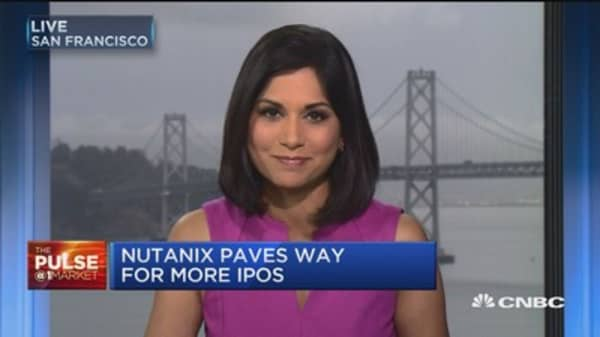 Nutanix paves way for more IPOs