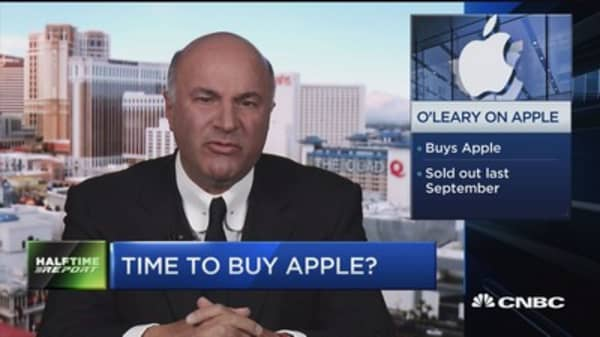 O'Leary on Apple: Services showing signs growth