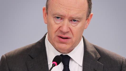 John Cryan, CEO of Deutsche Bank
