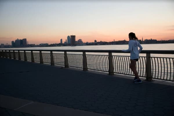 Girl Running, exercising