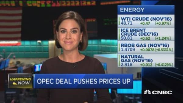 Oil prices rise post-OPEC deal