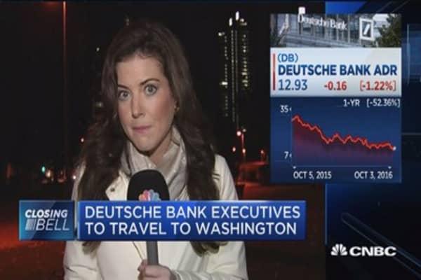 Deutsche Bank executives to travel to Washington
