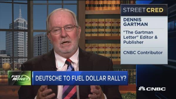 Deutsche to fuel dollar rally?