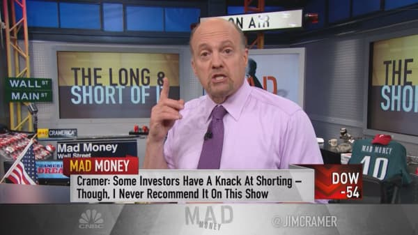 Cramer's 6 vital rules to short selling