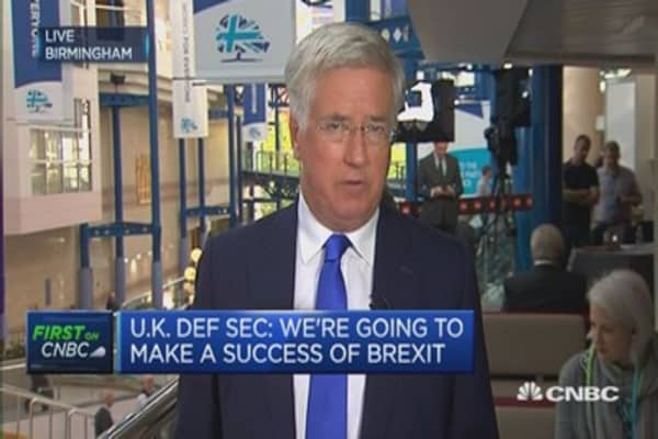 We can make a success of Brexit: UK Defence Secretary