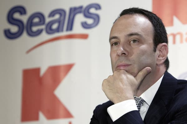 Edward Lampert, chairman and CEO of Sears Holdings