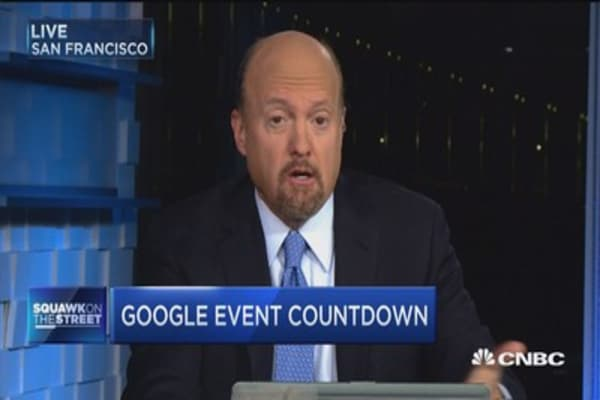 Cramer on Google event