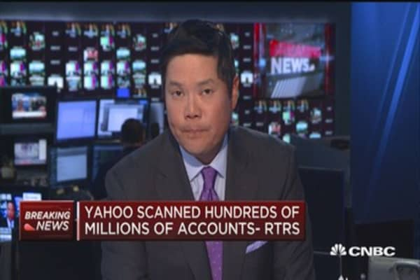 Yahoo scanned hundreds of millions of accounts - RTRS