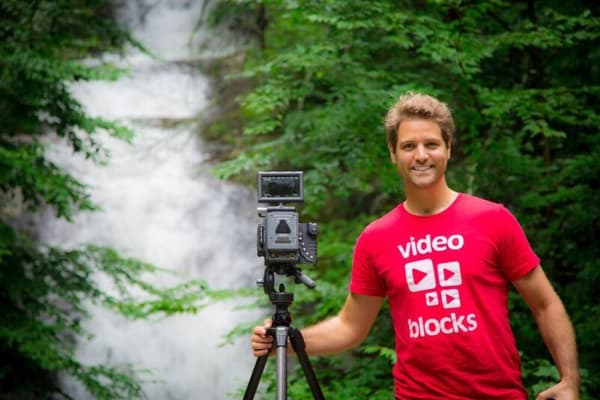 Joel Holland, founder of VideoBlocks