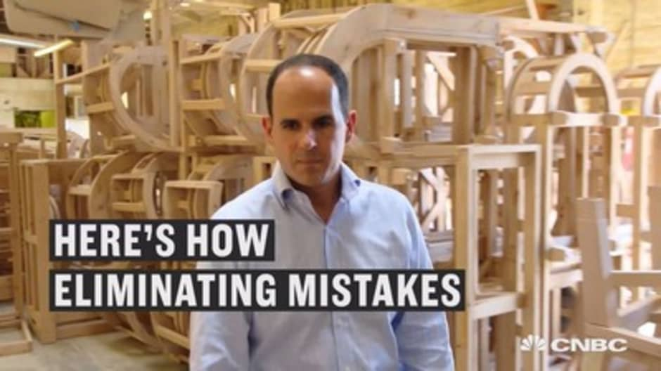 How Marcus Lemonis took $150,000 and turned it into $580,000 of added profit for this company