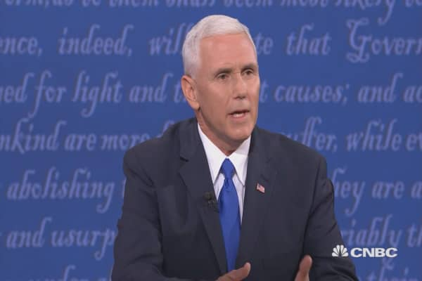 Pence: Trump used tax code brilliantly