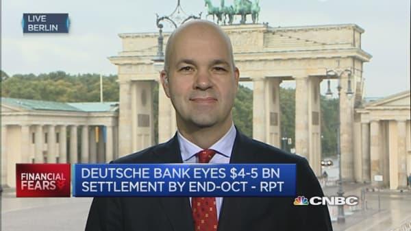 How will regulators deal with  Deutsche Bank