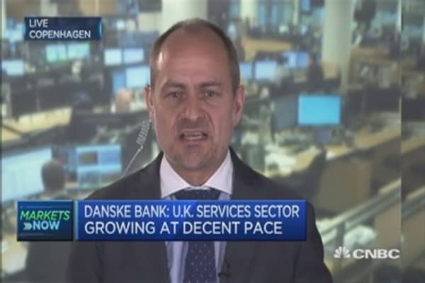 Sterling will go lower: Danske Bank