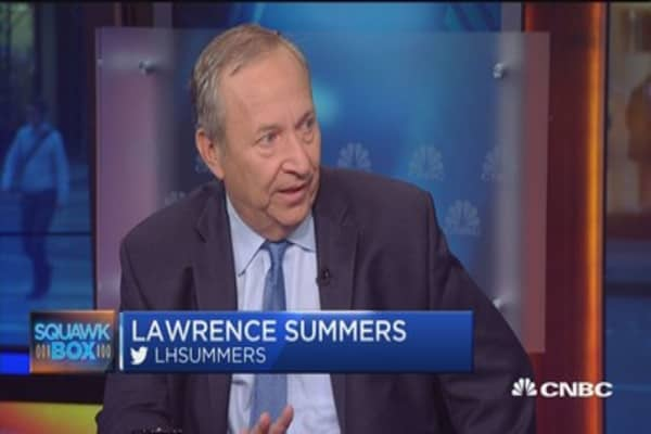 Larry Summers: Four things the fed should do
