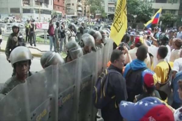 Venezuela crisis hitting oil workers