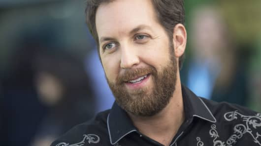 Chris Sacca, founder of Lowercase Capital LLC, speaks during an interview at the DreamForce Conference in San Francisco, Tuesday, Oct. 4, 2016.