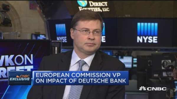 European Commisson VP: Financial system more robust than pre-crisis