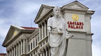 Caesars Palace Las Vegas Hotel and Casino located along the Las Vegas Strip in Las Vegas, Nevada
