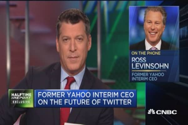 Levinsohn: Twitter needs to be part of something bigger