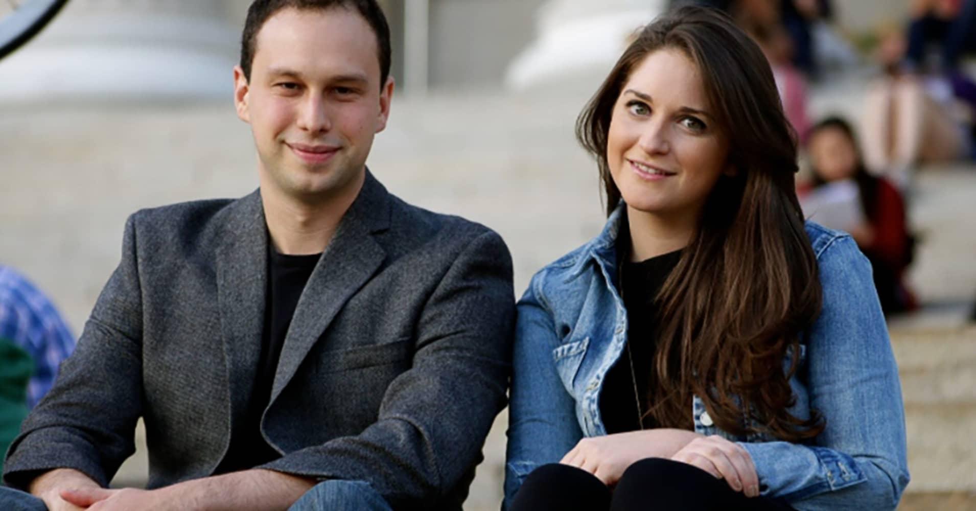 WayUp co-founders Liz Wessel and JJ Fliegelman