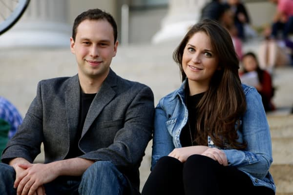 WayUp co-founders Liz Wessel and JJ Fliegelman