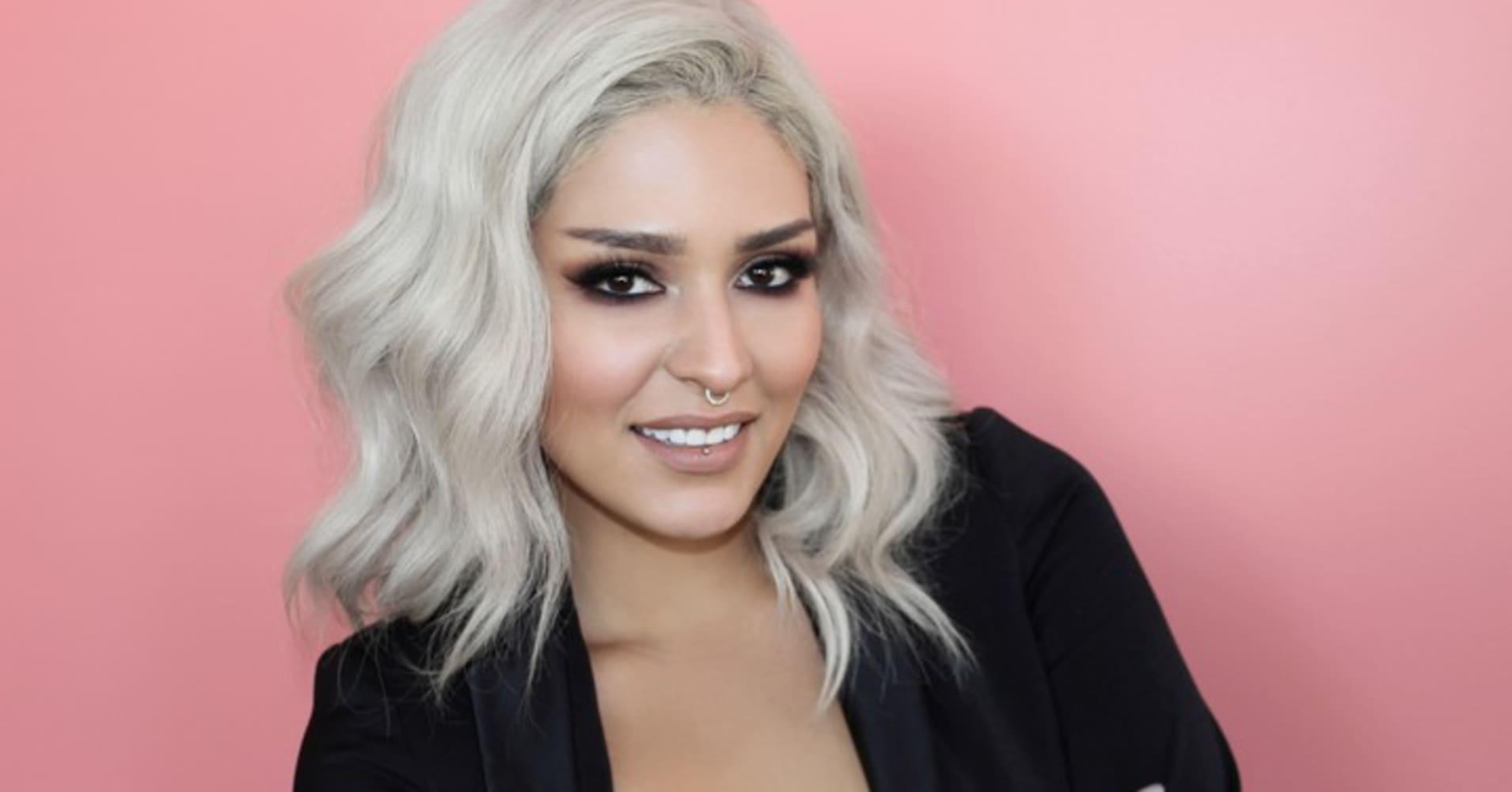 CEO of Melt Cosmetics Lora Arellano has used social media to help build her company.
